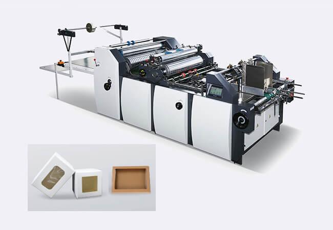 650T Box Window Patching Machine