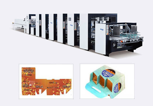 PCS High Speed Corrugated folder gluer machine